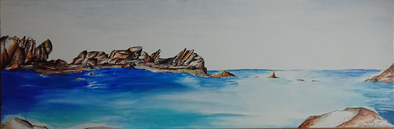 Marlène Bonnaffé - Bretagne, Mer et Rochers