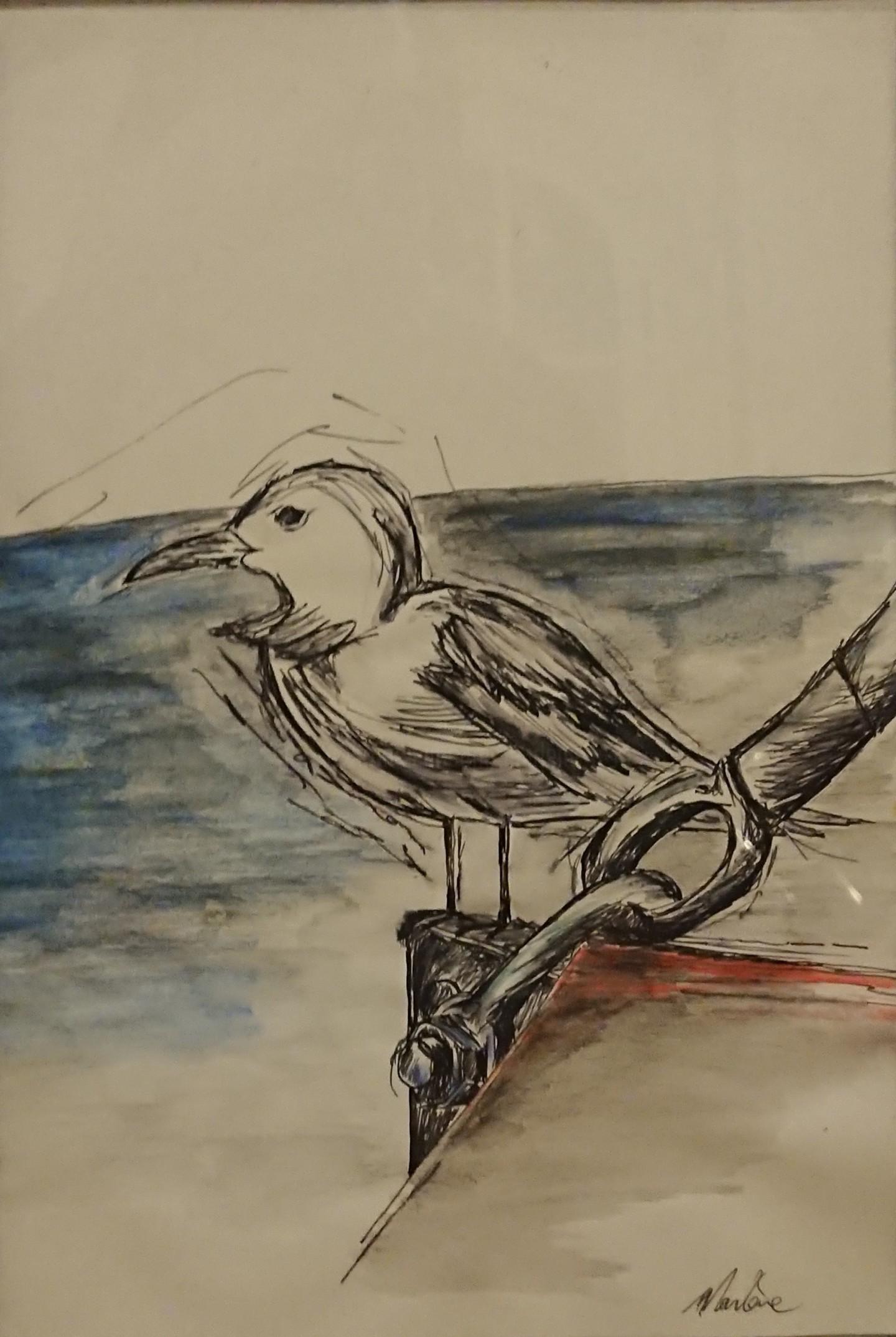 Marlène Bonnaffé - Oiseau Encyclopedios
