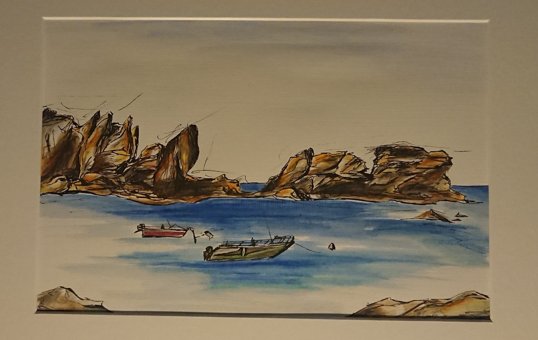 Marlène Bonnaffé - Bretagne sur mer