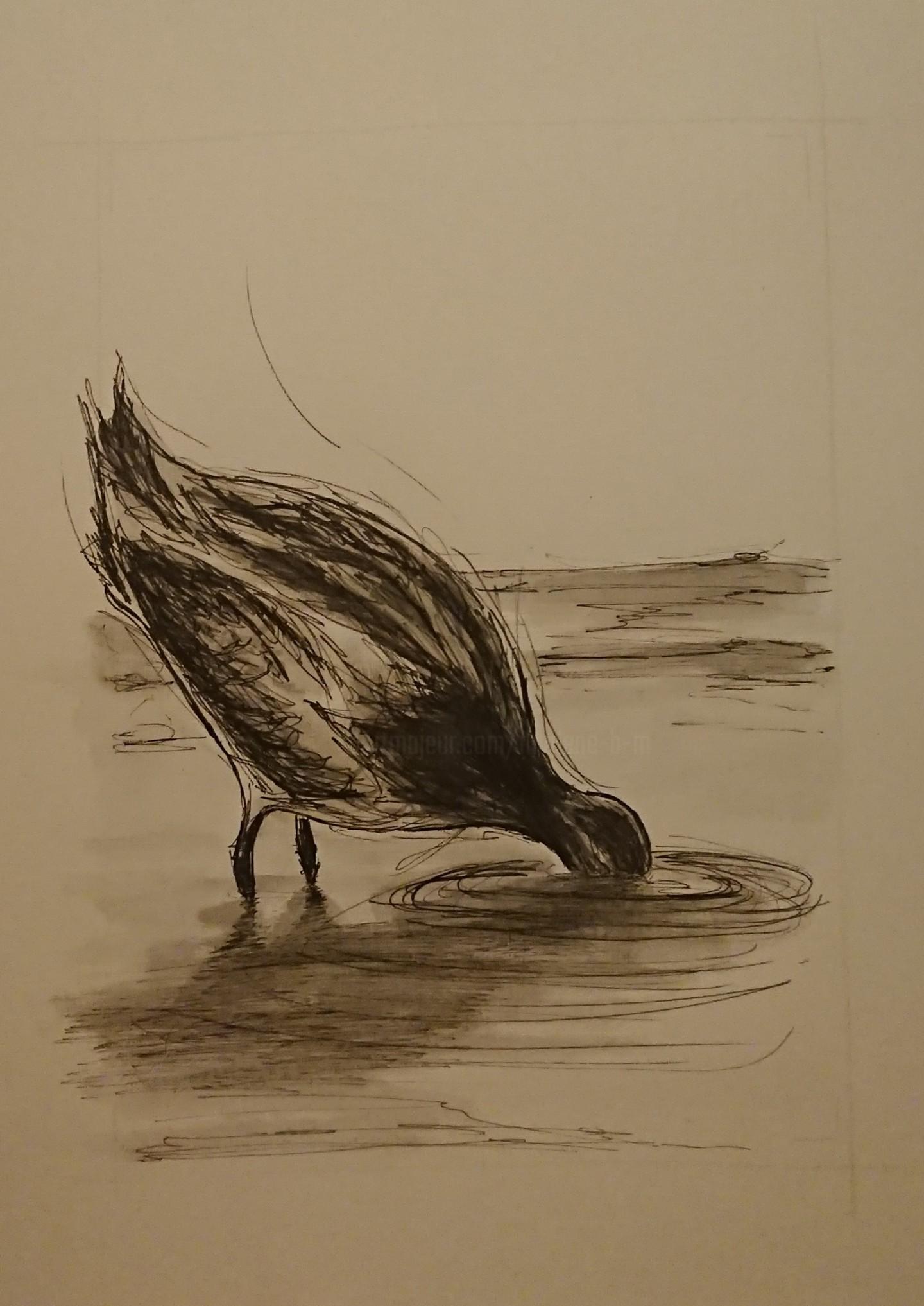 Marlène Bonnaffé - Oiseau