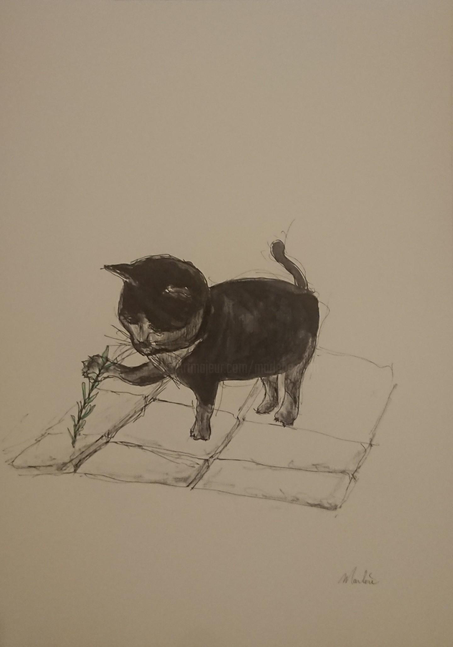 Marlène Bonnaffé - Petit Chat